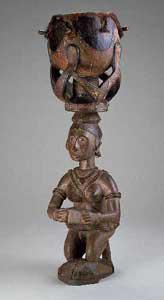 Baga Drum Барабан Бага, National Museum of African Art