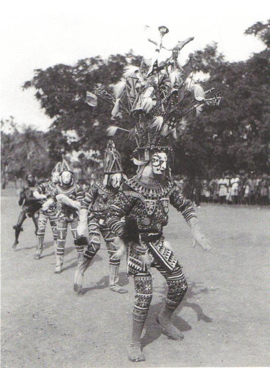 Африканская маска Igbo Spirit