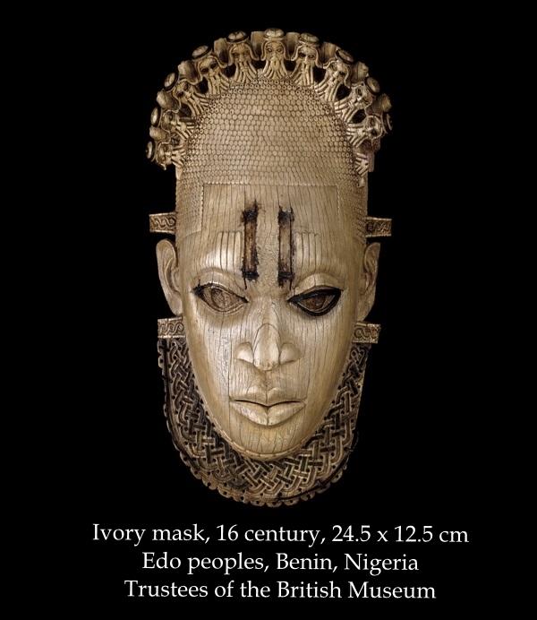 МАСКА EDO PEOPLES, IYOBA [BENIN], Британский музей